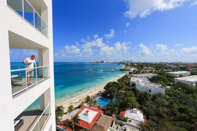 RIU Palace Peninsula Blick auf's Karibische Meer
