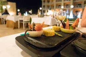 Vorspeise im Rodizio-Restaurant