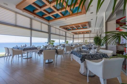 Das Griechische Restaurant im 9 OG.