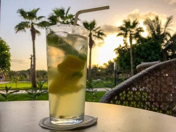 Mojito zum Sonnenuntergang - RIU Palace Cabo Verde - Sal