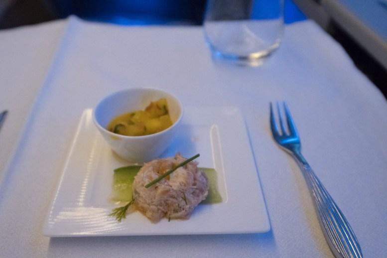 Qatar Airways Business Class nach Auckland - Amuse-Gueule