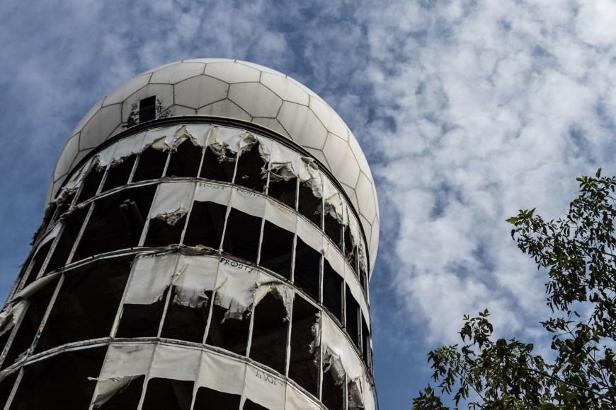 Höchste Kuppel auf dem Teufelsberg Berlin