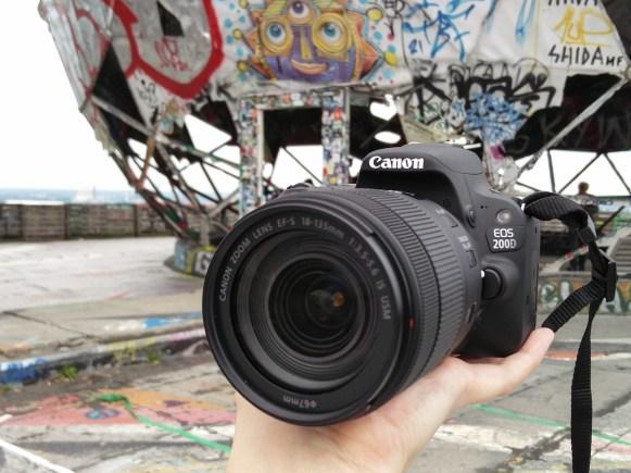 Canon EOS 200D auf dem Teufelsberg Berlin