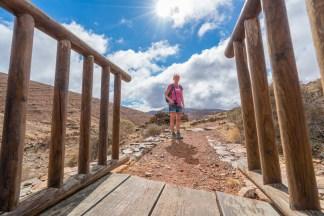 Wandern auf Fuerteventura - von Toto auf dem GR 131 auf den Pass Degollada de los Granadillos