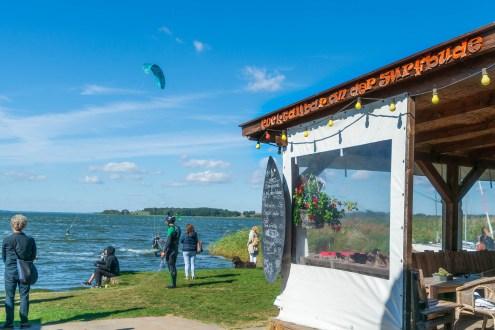 Usedom - Achterwasser Ückeritz - Wassersport Cafe Knatter