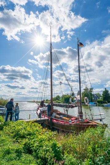 Usedom - Zeesboot