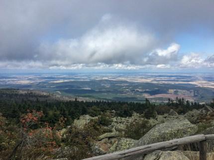 Wanderung Brocken - Gipfel Aussicht