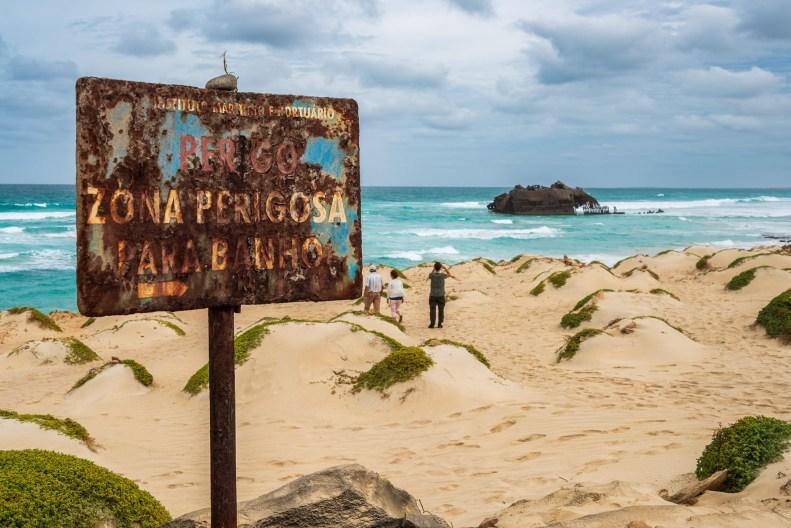 Boa Vista Kapverden - Nord-Südtour mit Baobab Tour - Schiffswrack Cabo Santa Maria