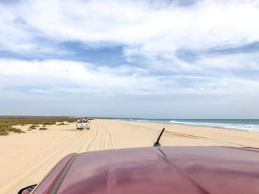 Boa Vista Kapverden - Nord-Südtour mit Baobab Tour - Santa Monica Beach