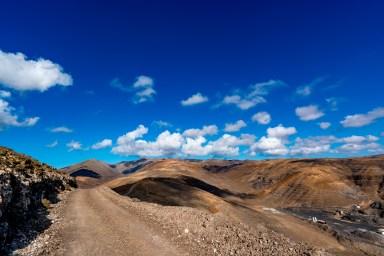 Wanderung Fuerteventura - Von Morro Jable auf den Pico de la Zarza - Jandia-Massiv PR FV 54