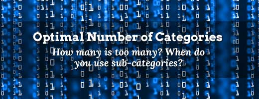 Optimal Number of Categories