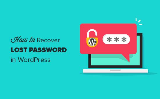 Cách khôi phục mật khẩu bị mất trong WordPress