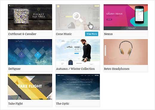 Adding a portfolio to your WordPress site
