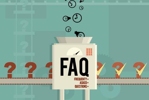 Adăugarea secțiunii Întrebări frecvente în WordPress