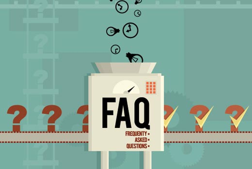 Adding FAQs section in WordPress