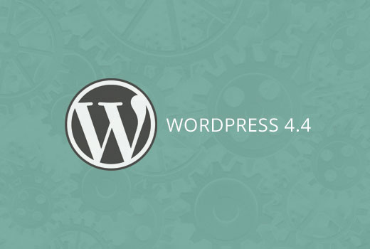 Features and screenshots of the new WordPress 4.4