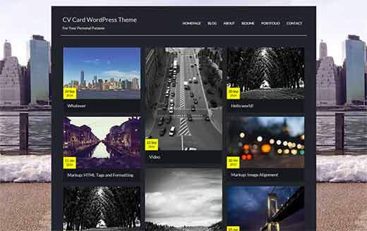 17 best wordpress resume themes for your online cv