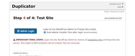 Finishing WordPress migration to new domain name
