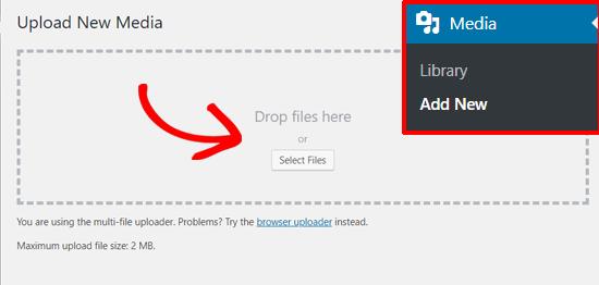 Add New Media to WordPress