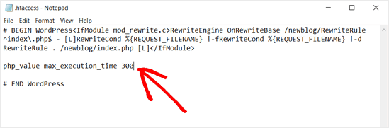 Adding Code to .htaccess File WordPress