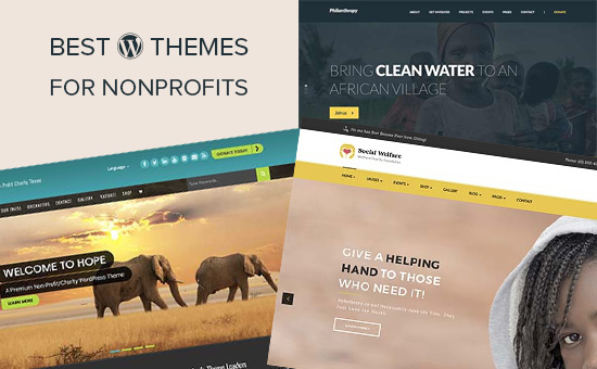 Best WordPress themes for non-profit organizations and charities
