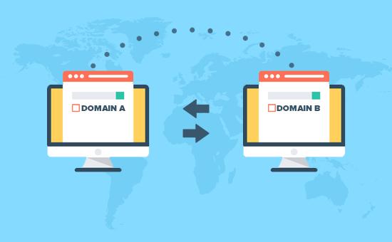 Изменение доменных имен