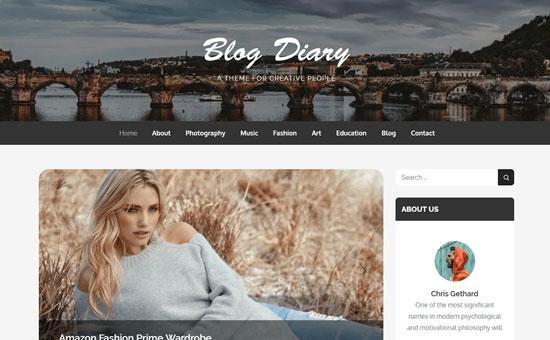 Blog Diary