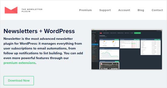 Newsletter WordPress plugin