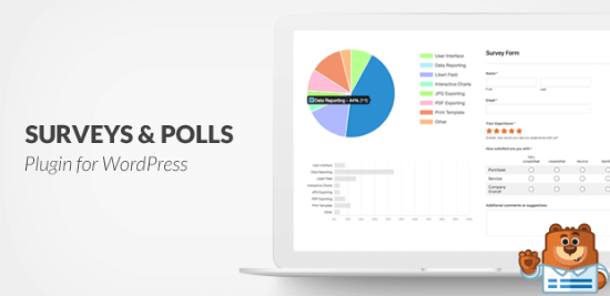 WPForms' Surveys and Polls addon