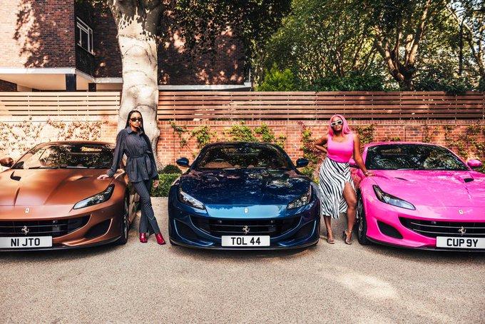 Otedola buys Ferrari Portofino for daughters