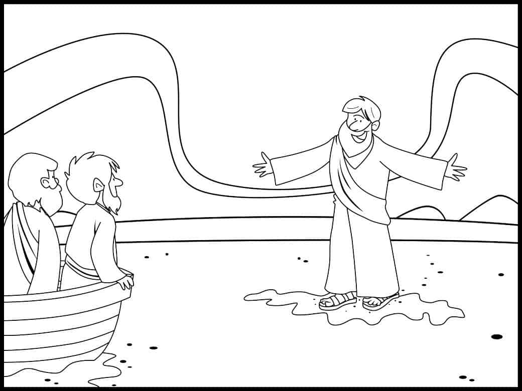 jesus coloring pages from ministry to children