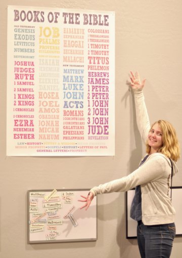 Free Printable Books of the Bible Poster