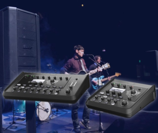The New Eight Channel T8s Tonematch Mixer And The Four Channel T4s Tonematch Mixer Represent The Next Generation Of Bose Professionals Tonematch Line
