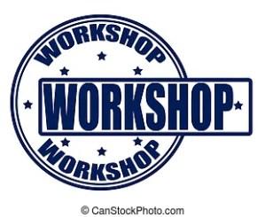 Workshop  Stamp with word workshop inside, vector