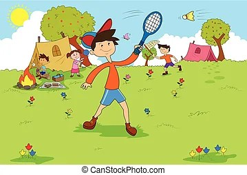 Camp activities Clip Art and Stock Illustrations. 379 Camp ... (269 x 194 Pixel)