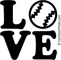 Download Love baseball Clipart Vector and Illustration. 260 Love ...
