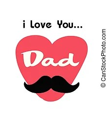 Download Love you dad Clipart Vector and Illustration. 1,980 Love ...