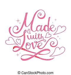 Download Made with love Clip Art Vector and Illustration. 3,088 ...