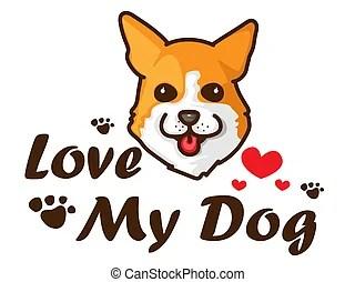 Download Welsh corgi pembroke love. Welsh corgi pembroke love with ...