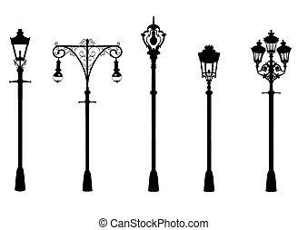 Lamppost Clipart And Stock Illustrations 3 179 Lamppost