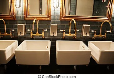 Washroom Stock Photos and Images  16 856 Washroom pictures and         stylish washroom in restaurant   stylish washroom in