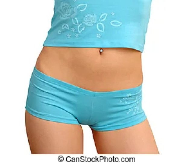 Young Woman Body In Underwear Young Female Body In Nice