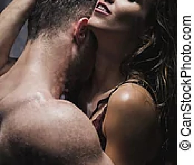 Young Couple During Passionate Foreplay