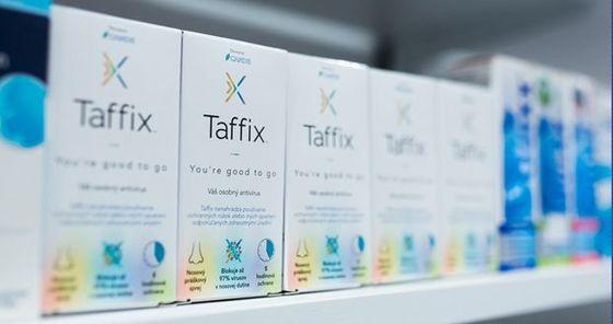 Taffix - unikátní nosní sprej