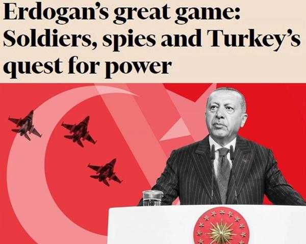 Foto - Londra merkezli gazete ayrıca Afrika'da Türkiye'nin büyükelçilik sayısının arttığına dikkat çekti. Afganistan, Katar ve Kuzey Kıbrıs Türk Cumhuriyeti'nde Türk askeri varlığının bulunduğu anımsatıldı.