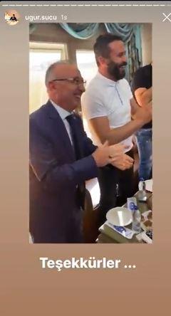 Hakim Esat Toklu davasını göreceği müteahhidin doğum günü partisine katılmış 15
