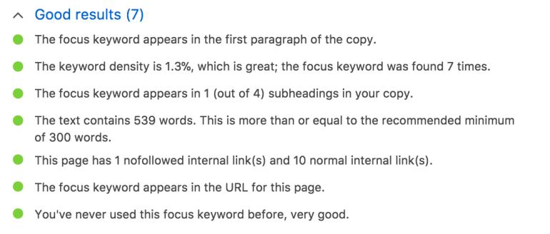 content checks thin content