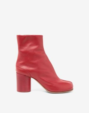 Maison Margiela Tabi Boots & Ankle Boots Red
