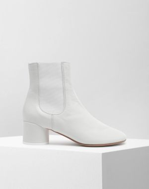 Mm6 By Maison Margiela Ankle Boots White
