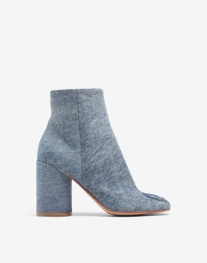 Mm6 By Maison Margiela Ankle Boots Blue